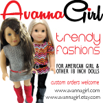 Trendy Handmade Clothing for Girls and their Dolls!