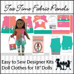 Designer Doll Clothes Kits for 18